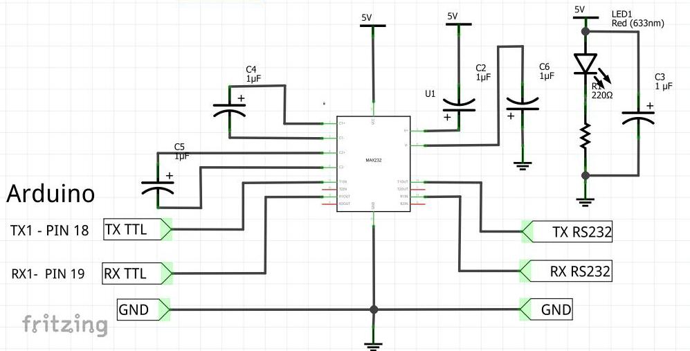 arduino master modbus rtu  rs232